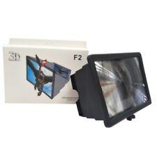 3D Folding Cell Phone HD Screen Magnifier Video Amplifier Stand Bracket Holders-