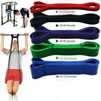 Heavy Duty Resistance Bands Loop Exercise Sport Fitness Tube Yoga Home Gym Latex