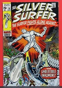 """Silver Surfer #18 Inhumans Appearance """"Last Issue"""""""