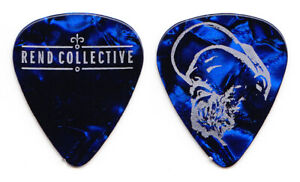Rend Collective Signature Blue Tour Guitar Pick