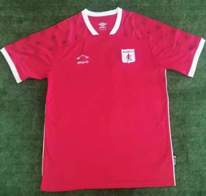 New 2021-22 America de Cali Home Soccer Jersey Short Sleeves Shirt S-2XL