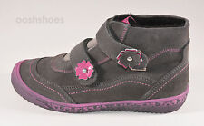 Richter Girls SympaTex Waterproof Grey Suede Boots UK 13 EU 32 RRP £57.00