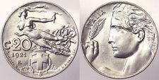 20 CENTESIMI 1921 REGNO D'ITALIA VITTORIO EMANUELE III Q.Fdc #PF7805