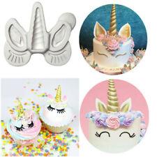 Molde de Silicona Fondant Pastel Decoración Cupcakes Sugarcraft Hornear Molde Herramienta
