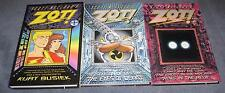 ZOT Hard Cover Lot TPB 1 2 3 HC, VF+, Scott McCloud 1997 Limited SIGNED Numbered