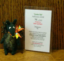 """Deb Canham Artist Designs Buster Bat, Halloween Coll., 2.5"""" Le jointed"""