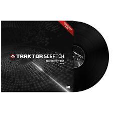 Native Instruments Traktor Scratch Control Vinyl MK2 BLACK ( SINGLE ) - NEW!!