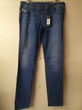 DIESEL Skinzee-Low Skinny Low Waist Jeans-Blue Size W32 L32