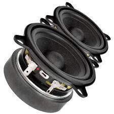 """Pair Faital Pro 3FE25 3"""" Midrange full-range Woofer Speaker 4 ohm 40W 91dB"""