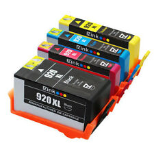 4 Pack 920XL 920 XL Ink Cartridge for HP Officejet 7000 6500a