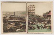 Somerset postcard - Bath, Institution Gardens Band Lawn