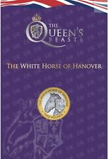 More details for queens beasts the white horse of hanover £2 two pound coin rare low mintage new