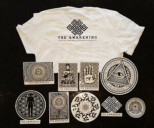 The Awakening Sticker Pack - 9 Limited Edition Spiritual Stickers
