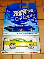 Hot Wheels Cool Classics Plymouth Duster Thruster Spectrafrost Green
