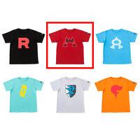 Pokemon Center Original SECRET TEAMS T-shirt collection Team Magma Free size
