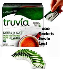 🔥 Truvia Calorie Free Naturally Sweetener The Stevia Leaf 400 Packets 28.2 Oz
