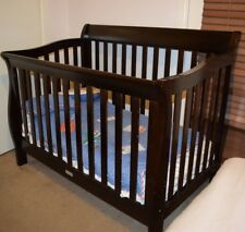 Bootiq Madison Baby Cot  Walnut timber *great condition*