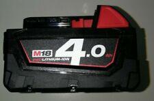 MILWAUKEE M18B4 BATTERIA LITIO 18V 4AH ORIGINALE
