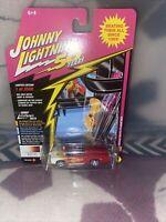 Johnny Lightning 1/64 George Barris Fireball Meallic Red Diecast JLCG018