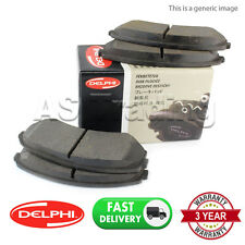 SET OF FRONT DELPHI LOCKHEED BRAKE PADS FOR CITROEN C1 1.0 1.4 HDI (2005-)