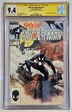 Web of Spider-Man #1 (Apr 1985, Marvel) CGC 9.4 SS Louise Simonson