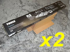 Genuine Thule FreeRide 532 Roof Mounted Bike Cycle Carrier TWIN PACK x2