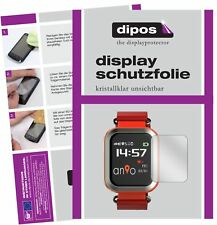 2x Anio 3 Touch Schutzfolie klar Displayschutzfolie Folie Display Schutz dipos