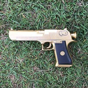 Backyard Blasters Golden Desert Eagle Toy Foam Dart Gun