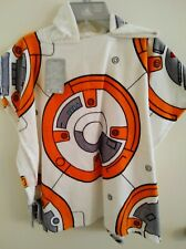 New Disney Store Star Wars Bb8 Hooded Poncho Towel beach pool - kid size