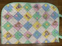 Cabbage Patch Kids DOLL Quilted bunting Sleeping Bag Blanket 1982 Vintage Coleco