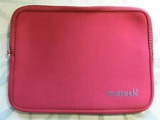 Inateck 11.6 - 12 inch Red Water Repellent Neoprene Laptop Tablet Sleeve NEW
