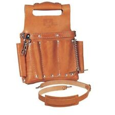 IDEAL - 35-950 Tuff-Tote Premium Leather Tool Pouch With Shoulder Strap