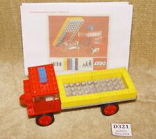 LEGO Sets: Classic: Vehicle: Construction: 331-1 Dump Truck (1967) 100% Vintage
