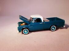 GL '63 DODGE D-100 CLASSIC PICKUP TRUCK, OPENING HOOD & CONTRACTOR'S TOOLBOX