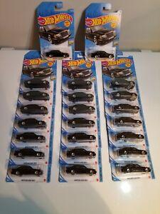 (23) 2021 Hot Wheels Mercedes Benz 500 E Lot of 23 Black New