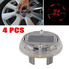 4Mode Solar Energy 12PCS LED Flash Wheel Tire Valve Neon Light Lamp Decor Bright