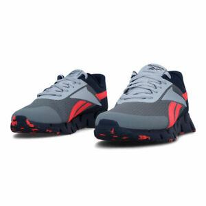 Men Reebok Zig Dynamica Navy Running Shoes Men's Sneakers NEW