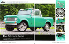 1963 INTERNATIONAL SCOUT 80 ~ GREAT 4-PAGE ARTICLE / AD
