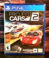 Project Cars 2 - PS4 - Sony PlayStation 4 - Brand NEW - Sealed