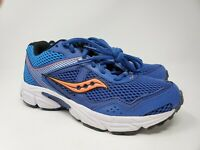 Saucony Youth Boy's Cohesion 10 LTT Blue Orange Running Shoes Size 4.5 M
