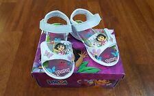 Girls Sandals Shoes Toddler Dora the Explorer Light Up Size 8