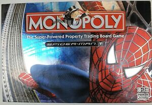 Spiderman Monopoly 2007 in Excellent Condition