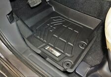 Front Row Floor Mats in Black for 2016 - 2017 Mitsubishi Outlander