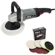 HILKA 180MM 1200W CAR POLISHER & SANDER POLISHING MACHINE BUFFER AND PADS KIT