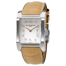 Baume and Mercier Hampton Silver Dial Stainless Steel Ladies Watch 10081