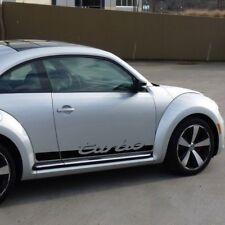 VW Volkswagen Beetle Turbo 2011-2018 decal Porche script turbo decal stripe