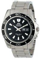 Orient Men's 'Mako XL' Japanese Automatic Stainless Steel Watch FEM75001BW
