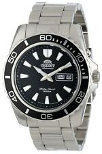 Orient Men's 'Mako XL' Japanese Automatic Stainless Steel Watch FEM75001BW