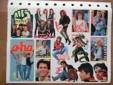 BRAVO Sticker 75 a-ha Europe Madonna Nena Samantha Fox Bruce Lee C.C. Catch Tina