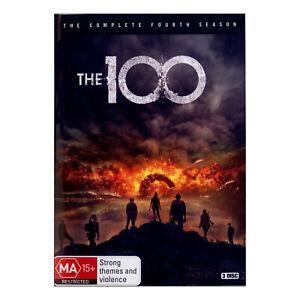 The 100: Season 4 DVD (3 Disc Set) Brand New Region 4 Aust. - Eliza Taylor